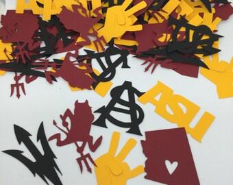 ASU / Arizona State University Confetti