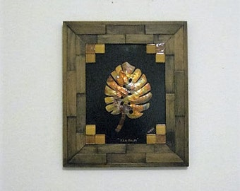 Framed Copper Wall Art