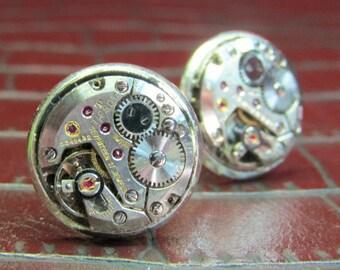 TISSOT Vintage Watch Movement Cufflinks