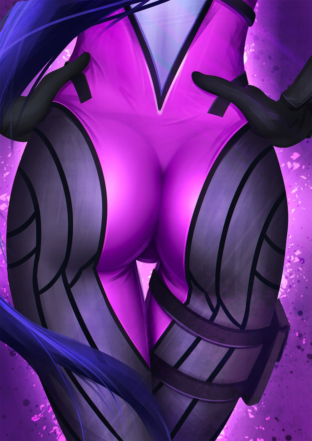 Widowmaker booty