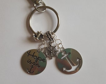 Hope is an Anchor Keychain