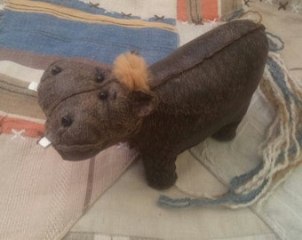 Hippopotamus Meggi toy  skin toy gift to a friend