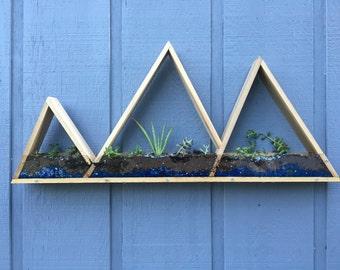 Mountain Range Planter
