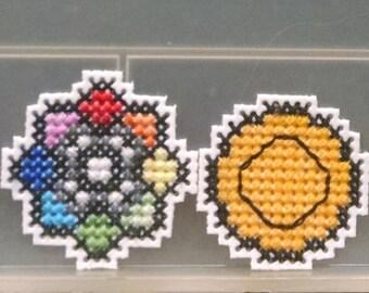 Pokemon Kanto Badges