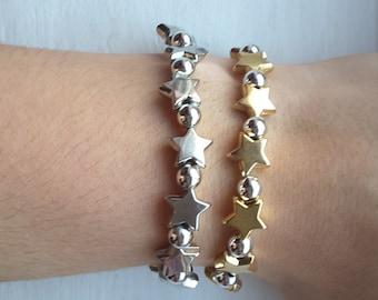 Kids make a wish upon a star bracelet