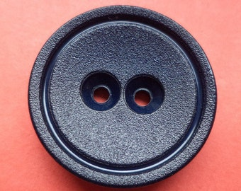 7 large buttons dark blue 28mm (4046) button coat buttons jacket buttons