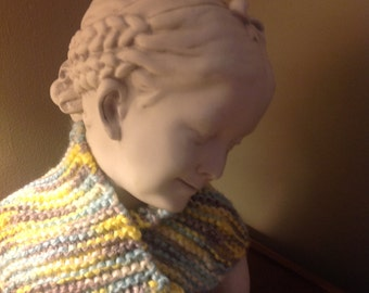 Yellow-Brown Neck Warmer
