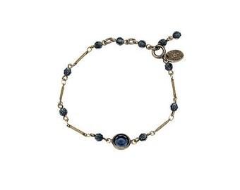 Blue bubble bracelet