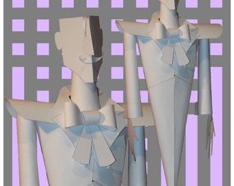 Charles Rennie Mackintosh Paper Sculpture Kit