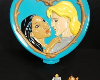 Vintage Polly Pocket Disney 'POCAHONTAS' 1995 Bluebird Toys