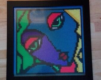 Colourful Hama Bead Girl
