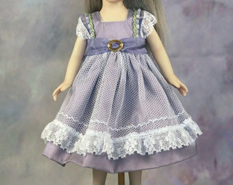"Piper- an 8"" all porcelain doll"