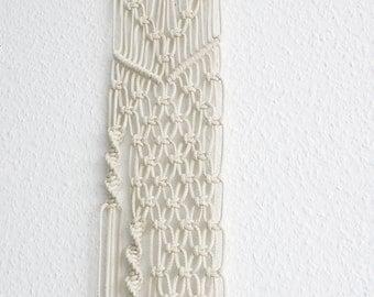 "Macrame wall decoration 150 cm / macrame wall hanging 59 """
