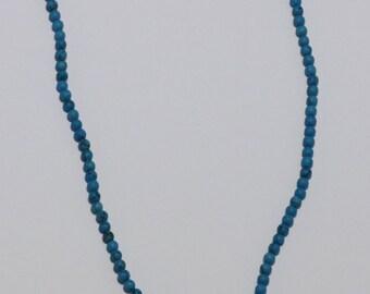 Turquoise Puzzle Piece Necklace