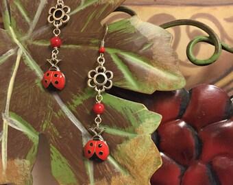 Flowers & Ladybugs