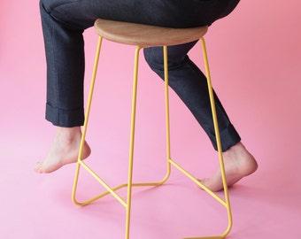 HOPA YLW bar stool (650)