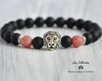 Gift for men/Mens Bracelet/Beaded bracelet/Fashion jewelry/Bracelet men/Mens gift/Gemstone bracelet/Energy bracelet/Gift ideas for men