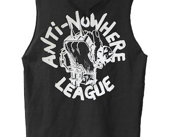 Logo - Anti-Nowhere League muscle shirt