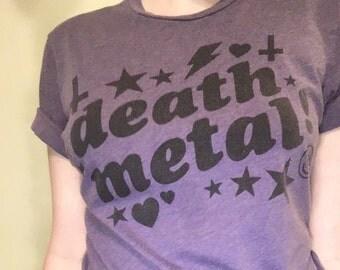 DEATH METAL Shirt Size M