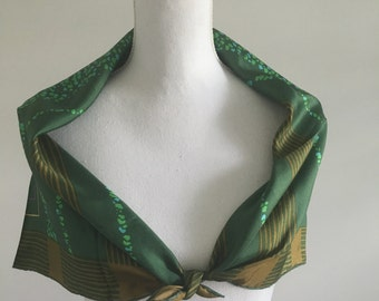 Vintage Dior Silk Scarf