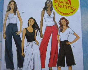 Butterick 5221 Trouser and Culotte Sewing Pattern 16-24