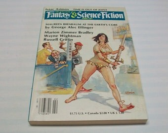 Magazine of Fantasy and Science Fiction F&SF February 1986 Paperback Book