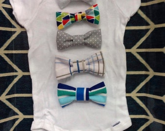 Baby Bow Ties - Set of 5