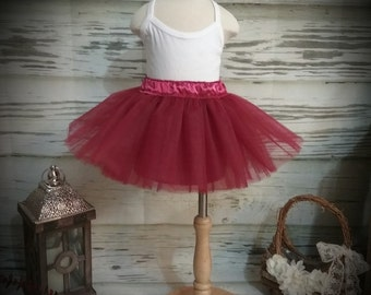 Free Shipping Burgundy Tutu Skirt-Baby Tutu Skirt-infant Tutu Skirt-photo Prop