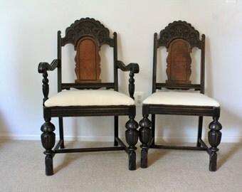 Antique 1930's Mahogany Chairs