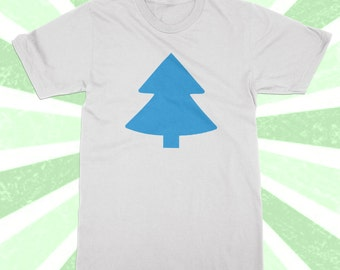 Dipper Pines Shirt - Cute Cartoon tshirt - Gravity Falls Cosplay - costume - Halloween - Pine Tree Shirt - Dipper Hat - Mystery Shack -
