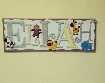 Personalized Name Wall Art
