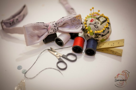 Oriental Chic Bow tie / Bow ties - Clothing/ Neckties/ Accessories Suit/ Groomsmen/ Wedding ties/ Men's Gift Ideas/Bow tie Party/Baby Shower