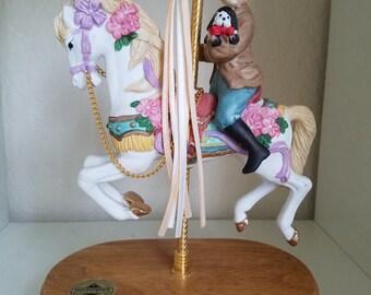 1993 Breckenridge Majestic Horse Carousel Music Box