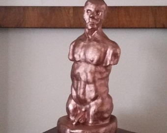 Copper Man Torso