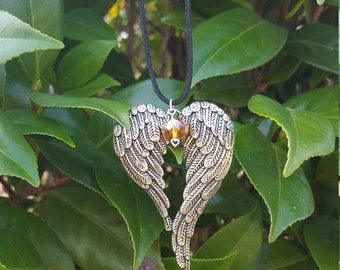 Guardian Angel Wings Necklace
