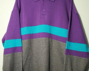 Sports Collared Pullover