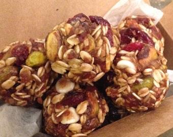 Gluten Free, Organic Energy Balls - Pistachio & Cranberry - one dozen