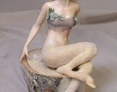 custom personalized ooak sculpted Dragon fairy, Centaur or Satyr art doll by Kate Sjoberg sculpted for you.