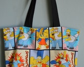 Simpsons Tote