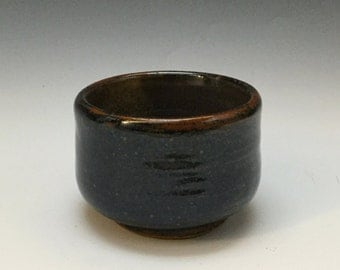 Tea Bowl - Ceramic Barware - Old Fashioned Cup - Lowball - Rocks Cup - Handmade Pottery