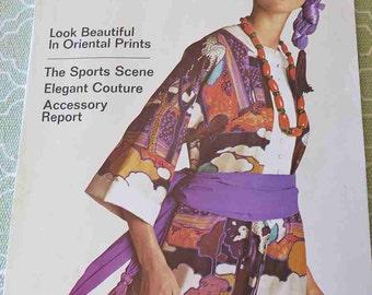 Vintage VOGUE Pattern Book International April May 1970