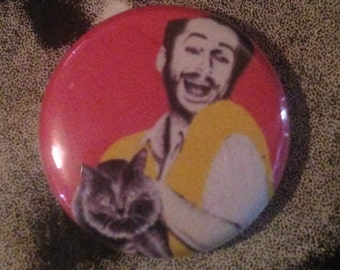 Charlie Day 1 Inch Pin