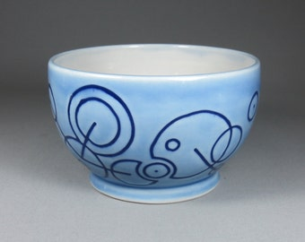 Celadon Blue Orrery Bowl