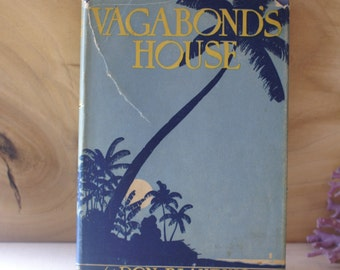 1932 Vagabond's House by Don Blanding, Hawaii Poetry Illustrated