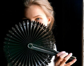 Victorian Cockade Fan