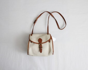 RESERVED ITEM! leather shoulder bag / dooney & bourke bag / crossbody purse