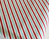 Christmas fabric, Pixie Noel fabric, Holiday fabric, Tasha Noel by Riley Blake, Cotton fabric, Pixie Stripe in Red,  Choose the cut