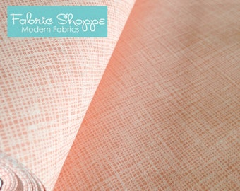 Best Seller, Architextures Crosshatch fabric, Robert Kaufman,  Crosshatch in Creamsicle- Choose your cut, Free Shipping Available