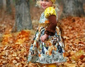 Western Girls Horse Dress , Western Wear Country dress