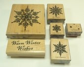 Warm Winter Wishes Stamp Set From Stampin Up
